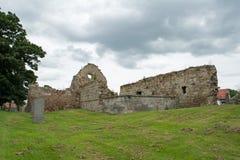 Iglesia escocesa abandonada arruinada antigua Fotografía de archivo