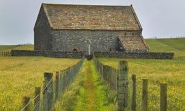 Iglesia escocesa antigua en la isla de Lewis St Moluag escocia Foto de archivo
