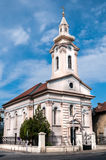 Iglesia evangélica eslovaca fotografía de archivo