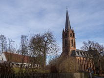 Iglesia Fankenberg Eder Germany de Liebfrauen II Fotos de archivo