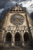 Iglesia fantasmagórica Fotos de archivo libres de regalías