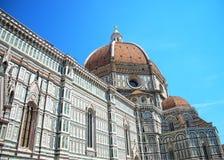 Iglesia Florencia Italia Foto de archivo