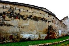 Iglesia fortificada Codlea Fotografía de archivo