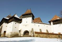 Iglesia fortificada de Viscri fotografía de archivo libre de regalías