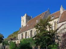 Iglesia fortificada Michael de Sankt Imágenes de archivo libres de regalías