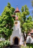 Iglesia fortificada vieja Imágenes de archivo libres de regalías