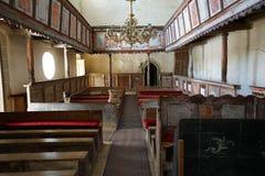 Iglesia fortificada Viscri de Transilvania 1000 años Imagen de archivo libre de regalías