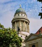 Iglesia francesa de la catedral en Berlin Germany foto de archivo libre de regalías