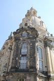 Iglesia Frauyenkirkh en Dresden imágenes de archivo libres de regalías