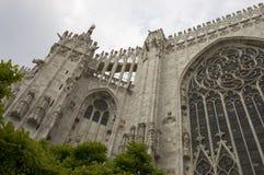 Iglesia gótica de Milano Fotografía de archivo libre de regalías