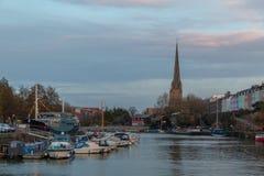 Iglesia gótica en Bristol fotografía de archivo libre de regalías