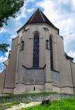 Iglesia gótica en Sighisoara Imagen de archivo