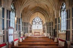 Iglesia gótica nea en el condado Galway Fotografía de archivo