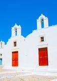 Iglesia gemela Imagen de archivo libre de regalías