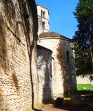 Iglesia, Girona Imagenes de archivo