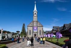 Iglesia Gramado el Brasil de San Pedro foto de archivo libre de regalías