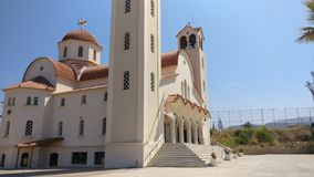 Iglesia - Grecia Imagen de archivo
