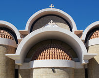 Iglesia griega Fotografía de archivo libre de regalías