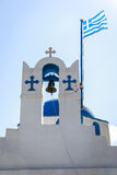 Iglesia griega Foto de archivo libre de regalías