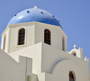 Iglesia griega ortodoxa Fotografía de archivo libre de regalías