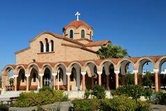 Iglesia griega vieja Imágenes de archivo libres de regalías