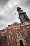 Iglesia Hamburgo de Michaelis del santo Imagenes de archivo
