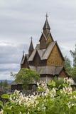 Iglesia Heddal del bastón fotografía de archivo libre de regalías
