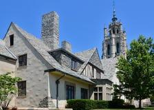 Iglesia hermosa al norte de Detroit Imagen de archivo libre de regalías