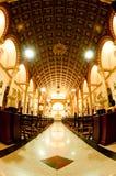 Iglesia hermosa en noche maravillosa Fotografía de archivo