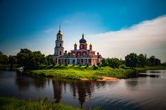 Iglesia hermosa rusa imagenes de archivo