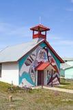 Iglesia hispánica vieja, Montezuma, New México Imagen de archivo libre de regalías