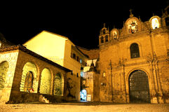Iglesia histórica Perú Imagenes de archivo
