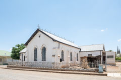 Iglesia histórica en Jagersfontein Fotos de archivo