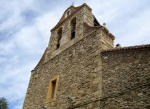 Iglesia Horcajuelo Image libre de droits
