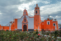 Iglesia Huejotzingo fotografie stock