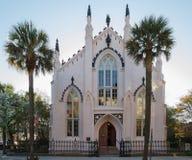 Iglesia hugonote francesa Charleston South Carolina Foto de archivo