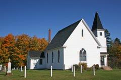 Iglesia II del país Foto de archivo libre de regalías
