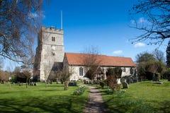 Iglesia Inglaterra de Cookham Imagenes de archivo