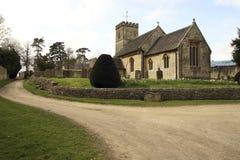 Iglesia inglesa Fotos de archivo libres de regalías