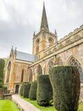 Iglesia inglesa en Stratford Imágenes de archivo libres de regalías
