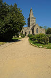 Iglesia inglesa rural Imagen de archivo libre de regalías