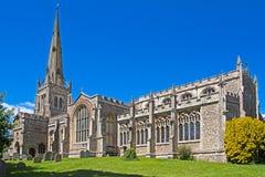 Iglesia inglesa rural en Essex Foto de archivo