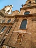 Iglesia Innsbruck de la jesuita Imágenes de archivo libres de regalías