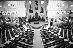 Iglesia interior Imagen de archivo