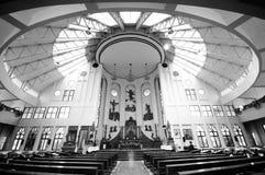 Iglesia interior Fotografía de archivo