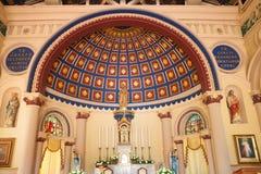 Iglesia interior Imágenes de archivo libres de regalías