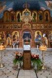 Iglesia interior de la resurrección Imagenes de archivo