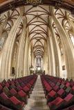 Iglesia interior del St Marys Imagen de archivo libre de regalías