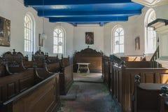 Iglesia interior en Den Ham Fotografía de archivo libre de regalías
