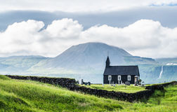 Iglesia islandesa Imágenes de archivo libres de regalías